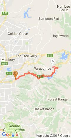 TDU 2017: Stage 2 from Gorge Rd to Finish
