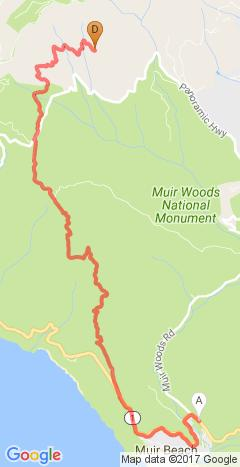 West  Point Inn To Muir Beach