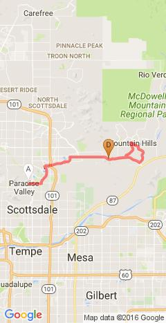 Fountain Hills and Paradise Valley